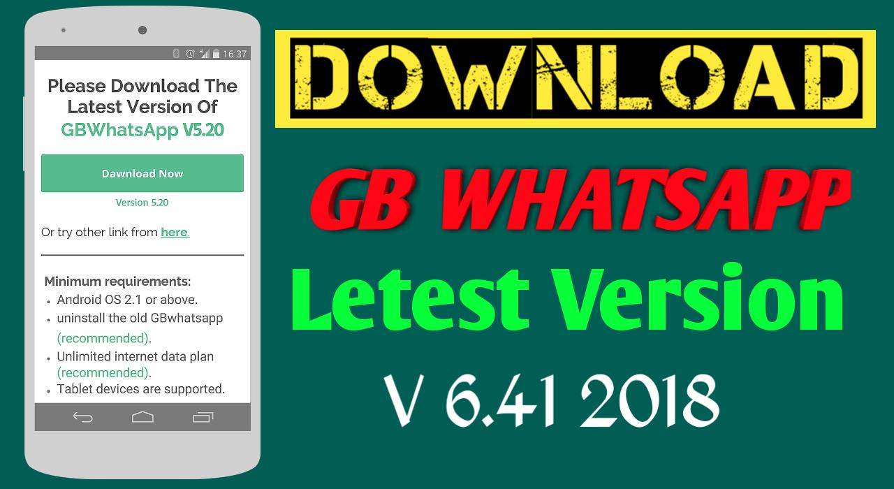 upgrade gbwhatsapp latest version