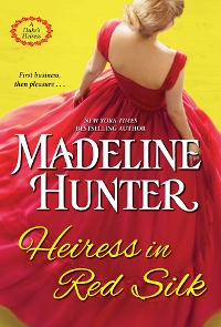 Heiress in Red Silk cover
