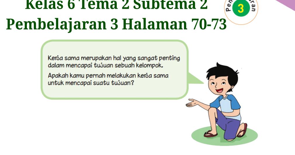 Kunci Jawaban Agama Islam Kelas 3 Halaman 30
