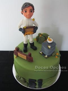 bolo apicultor doces opções bragança
