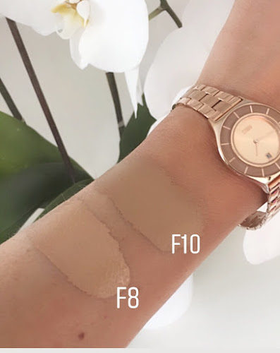 revolution conceal and hydrate foundation swatch
