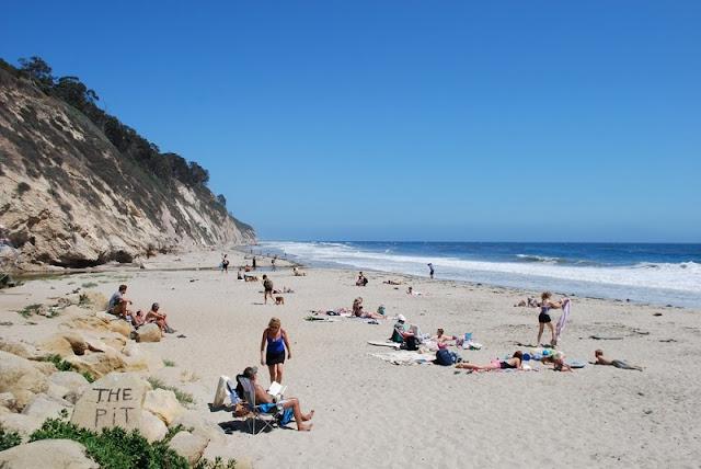 Hendry's Beach em Santa Bárbara