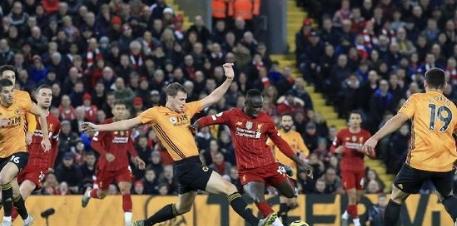 Wolves vs Liverpool di Mola TV