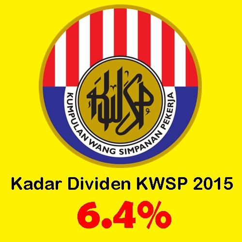 Kadar dividen kwsp tahun 2015, dividen kwsp 2015 diumumkan, kwsp umum bayaran dividen tahun 2015 6.4 peratus, beza dividen kwsp tahun 2015 – 2014, cara kira dividen kwsp, dividen kwsp haram
