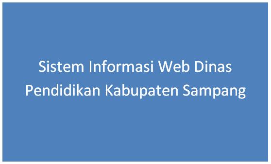 Sistem Informasi Web Dinas Pendidikan