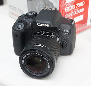 Jual Canon EOS 750D Wifi 2nd