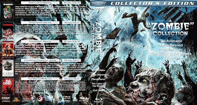 A Zombie Collection Bluray Cover