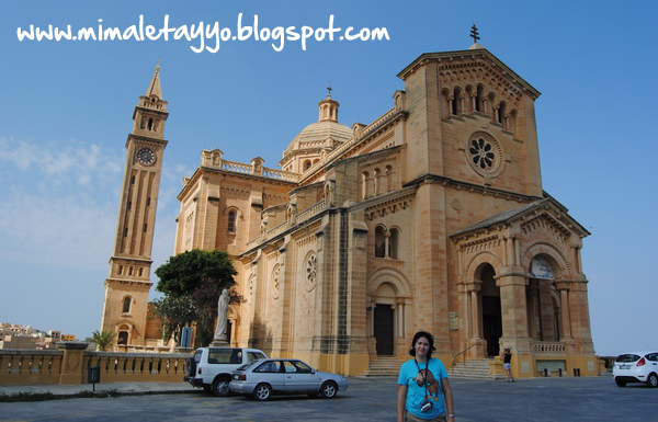 Basílica de Nuestra Señora de Ta'Pinu, Gozo, Malta