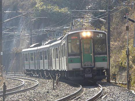 東北本線 小牛田行き3 701系