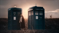 The two TARDIS