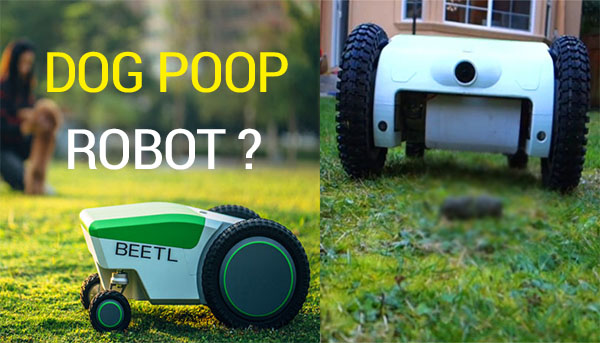 تعرف على هذا الروبوت الذي يقوم بجمع البراز في الحديقة تلقائياََ بستخدام المستشعرات
