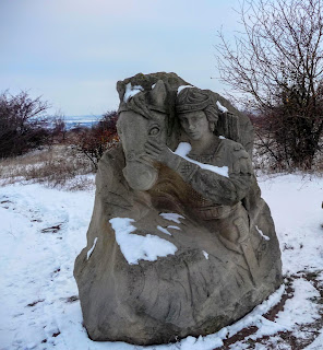 Оглядовий майданчик РЛП «Клебан-Бик». Скульптурні композиції