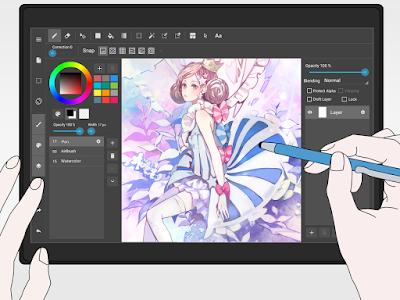 2- تطبيق MediBang Paint