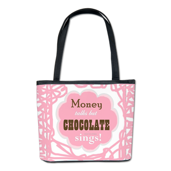 Chocolate Sings Bucket Bag