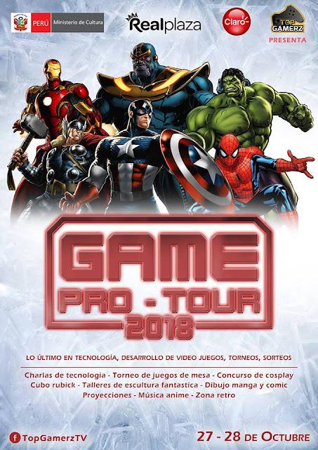 Game Pro Tour 2018