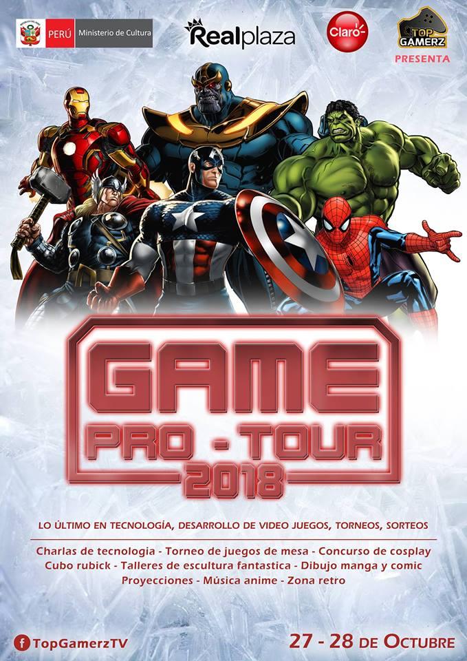 Game Pro Tour 2018 - 27 y 28 de octubre