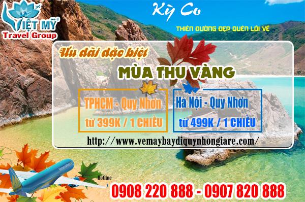 Khuyến mãi mùa thu vàng đi Quy Nhơn chỉ từ 399,000 đồng