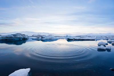 Gelo a derreter no Artico