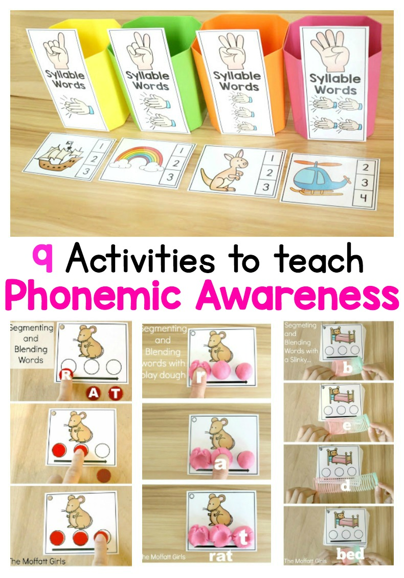 It's just a picture of Universal Phonemic Awareness Printable Games