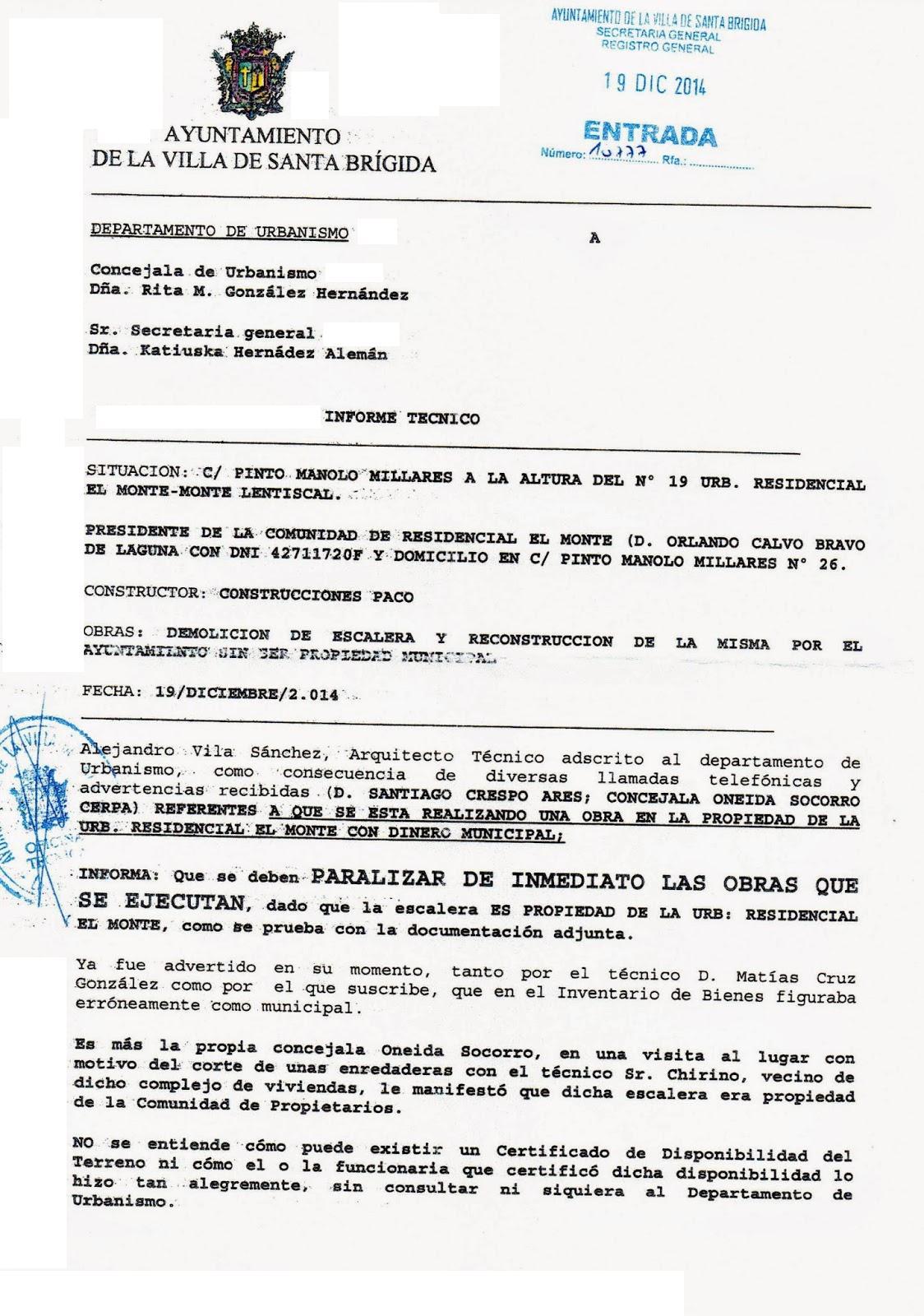 EL GRUPO DE DESGOBIERNO SE ENRABIETA POR LO APARECIDO EN LA PRENSA ...
