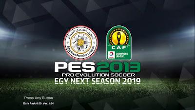 PES 2013 Egy Next Season Patch 2019 Season 2018/2019