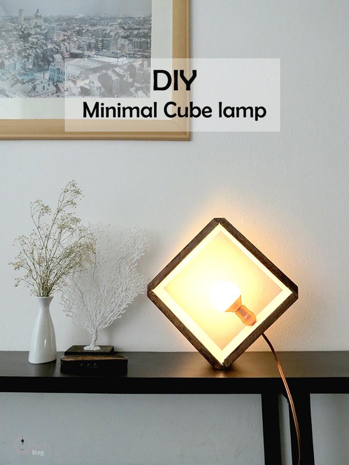 Diy Wooden Cube Lamp Ohoh Blog