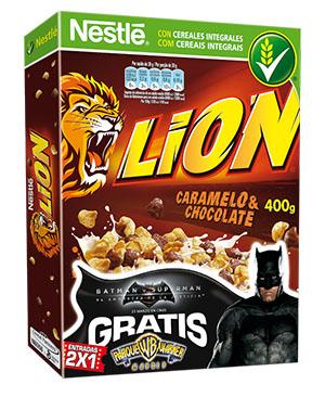 Cereales Lion Parque Warner