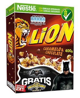 Cereales Lion Parque Warner