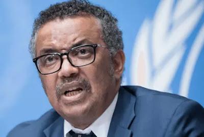 Dünya Sağlık Örgütü - Tedros Adhanom