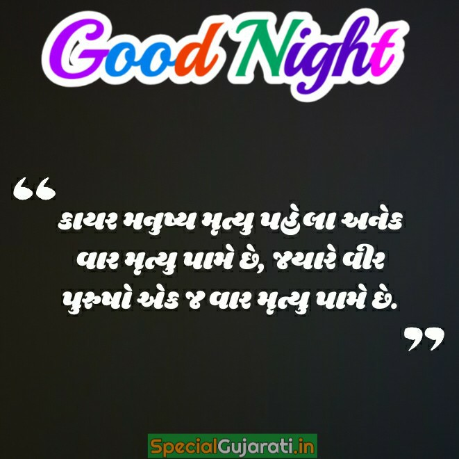 gujarati good night shayari