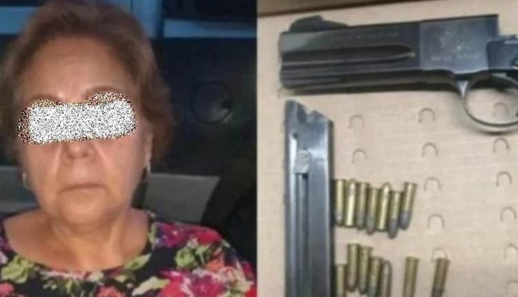 En Guanajuato hasta las abuelitas están armadas, detienen a doña Ana con pistola semiautomática y un revólver con sus respectivos cartuchos