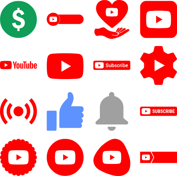 Youtube Logo Psd - Year of Clean Water