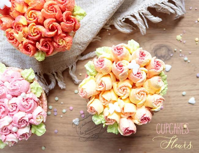 Cupcakes Fleurs Avec Une Douille Russe Il Etait Une Fois La