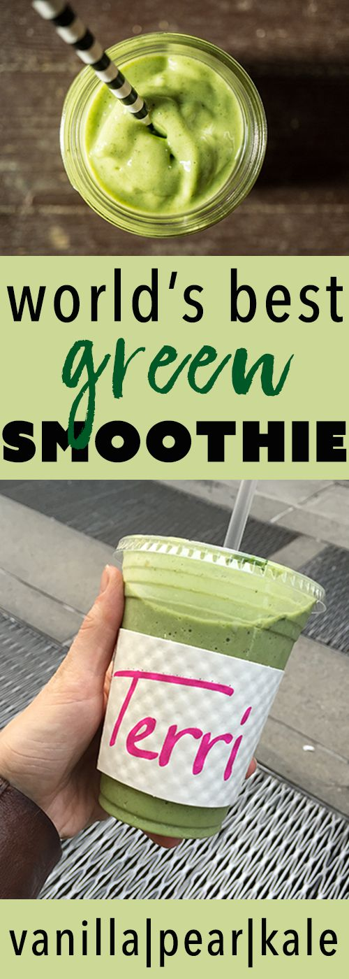 the world's best green smoothie