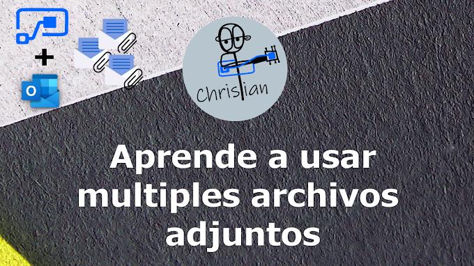 Múltiples archivos adjuntos