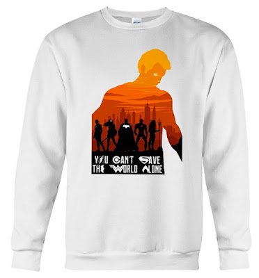 You Can't Save The World Alone Hoodie Sweatshirt