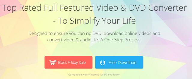 Black Friday  Giveaway - WonderFox DVD Video Converter