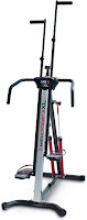 MaxiClimber XL-2000 Hydraulic Resistance Vertical Climber, features reviewed, updated & redesigned version of original MaxiClimber with adjustable resistance, higher user weight capacity, adjustable handlebars
