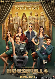 Housefull 4 2019 Full Hindi Movie Download HDRip 720p