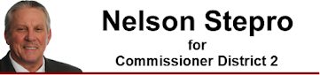 Nelson Stepro for Commissioner District 2