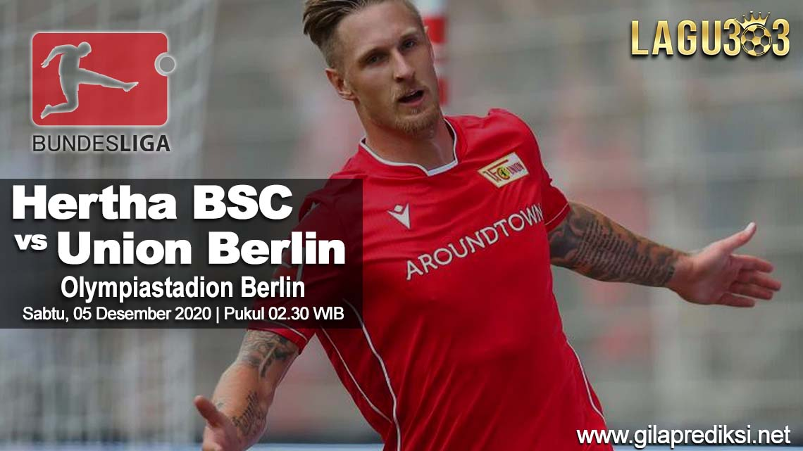 Prediksi Hertha BSC vs Union Berlin 05 Desember 2020 pukul 02.30 WIB
