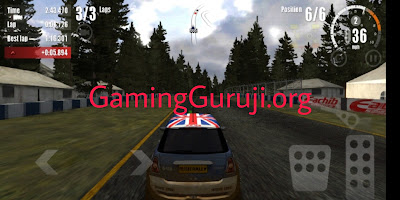Rush Rally 3 mod apk game screenshot