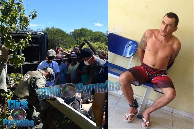 Identificado homem encontrado morto dentro de cova rasa na zona rural de Luís Correia