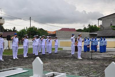 Lanal Karimun Ziarah ke Makam Pahlawan Pusara Bakti Pulau Kundur
