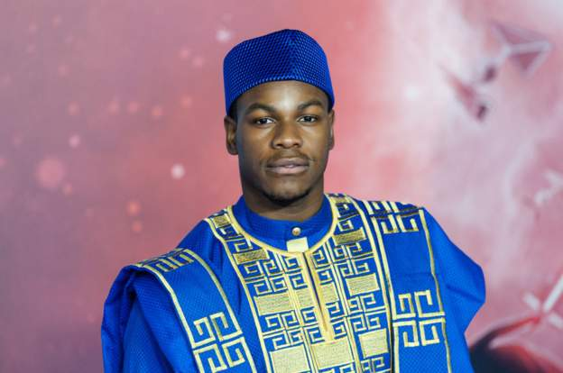 British-Nigerian Actor John Boyega represents Nigeria at Star Wars premier