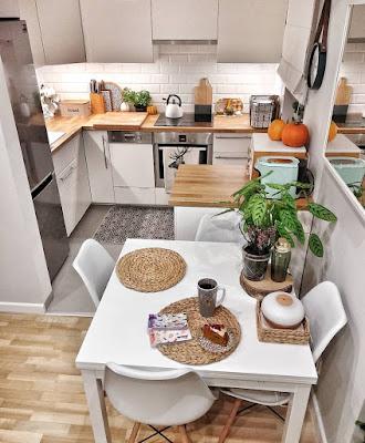 dapur sempit sekali