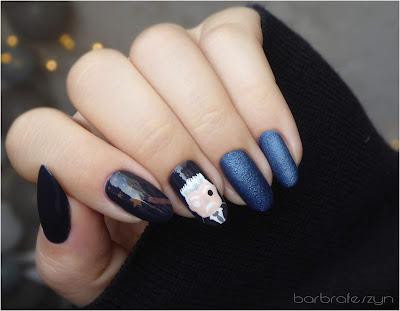 fantastyczne zwierzęta paznokcie