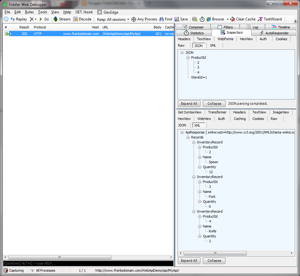 Xml Website Example: Returning XML Or JSON From A Web API