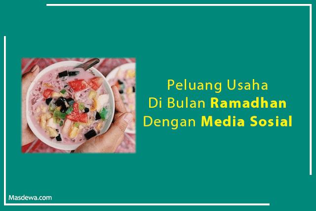 peluang bisnis dibulan ramadhan