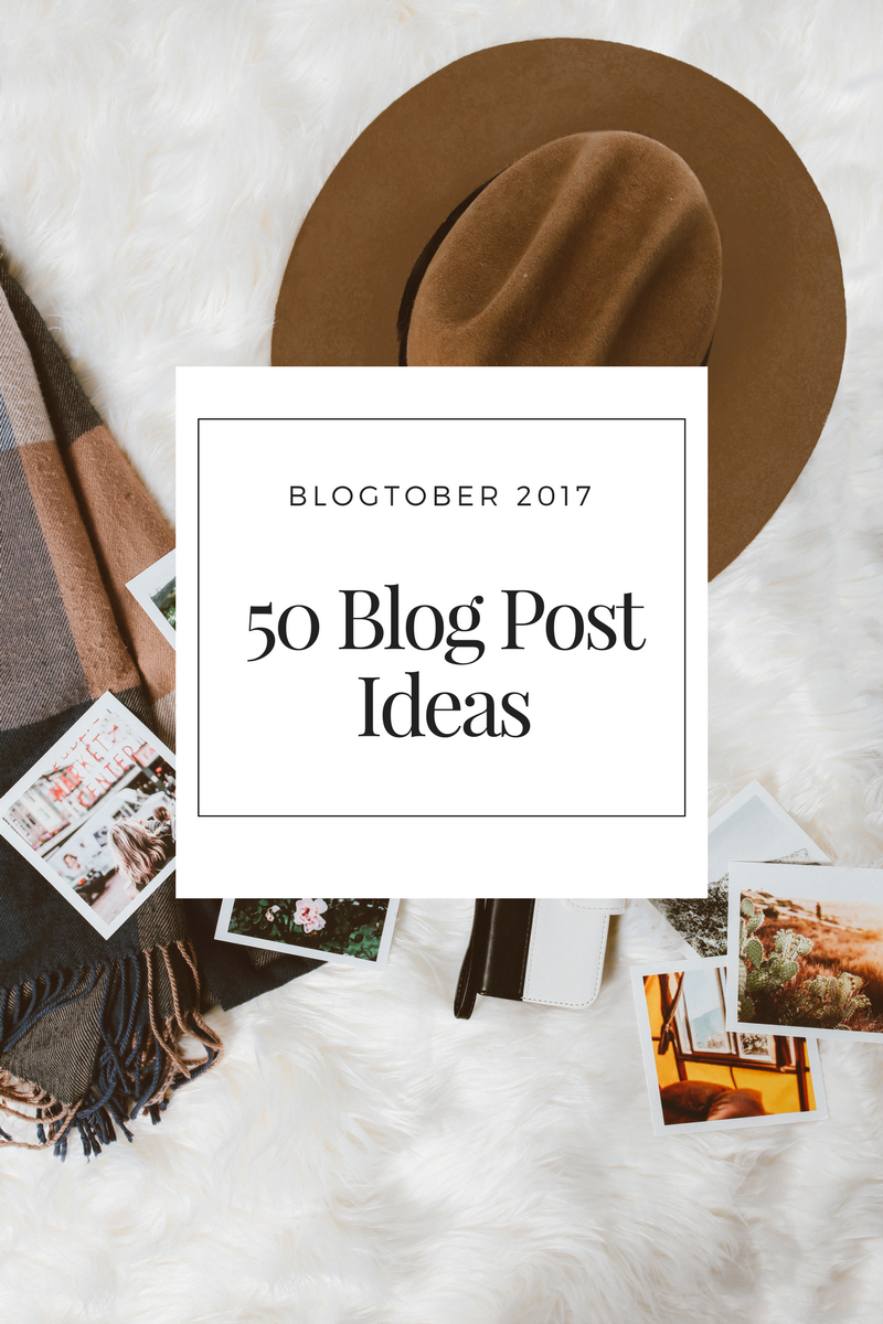 ©Katiewrites.co.uk Blog Post Ideas, Blogtober 2017, Katie Writes, Katie Writes Blog,